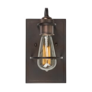 Find the perfect Cloutier 1-Light Armed Sconce By Williston Forge
