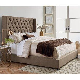 Bargain Gunnel Upholstered Panel Bed ByBirch Lane™