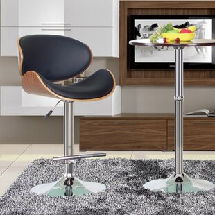 Hailey Adjustable Height Swivel Bar Stool Bromi Design