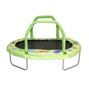 Jumpking Mini Oval Trampoline with Pad