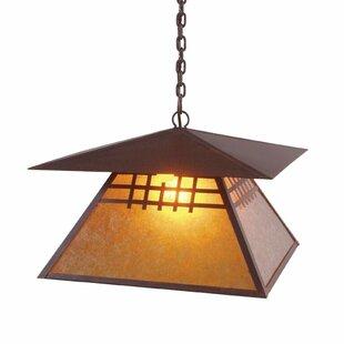 Steel Partners San Marcos 1-Light Lantern Pendant