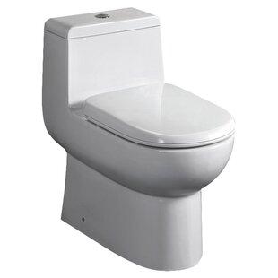 Fresca Antila Dual Flush Elongated One-Pi..