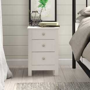 Boswell 3 Drawer Bedside Table By August Grove