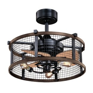 Caged Style Ceiling Fans You