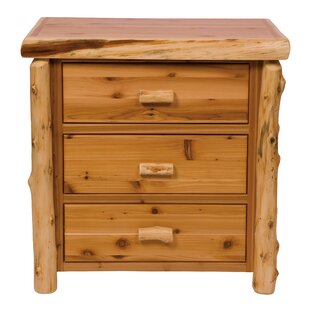 Fireside Lodge Value Cedar 3 Drawer Chest