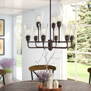 Clayton 9-Light Semi Flush..