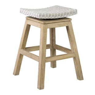 Oriana 61cm Swivel Bar Stool By August Grove