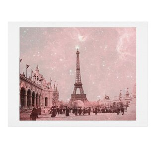 Stardust Covering Vintage Paris Wall Art