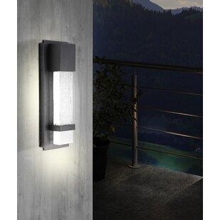 Orren Ellis Pelkey LED Outdoor Flush Mount