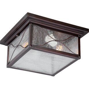 Dufresne 2-Light Outdoor Flush Mount