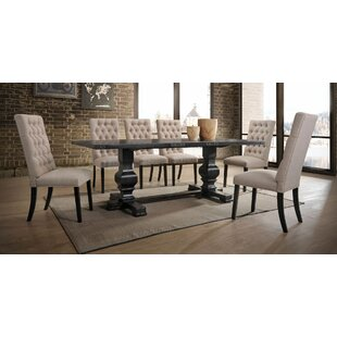 Demello 7 Pieces Dining Set Gracie Oaks