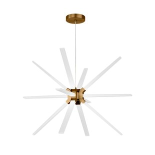 Ivy Bronx Maderia 12-Light LED Chandelier