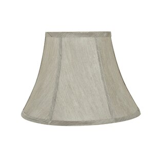 Transitional 13 Fabric Bell Spider Lamp Shade