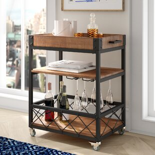 Zona Kitchen Cart Mercury Row