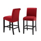 Partlow 26'' Counter Stool (Set of 2) by House of Hampton®