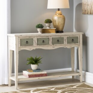 Deals Price Lula 4 Drawer Console Table