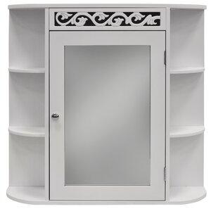 66 x 63,5 cm verspiegelter WC-Schrank Altman von..