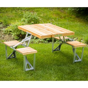 Teak Camping Table by Leisure Season Comparison