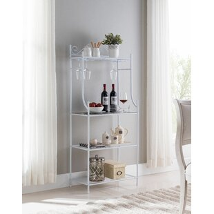 Silverman Transitional Steel Baker's Rack by August Grove