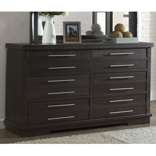 Jebediah 6 Drawer Double Dresser