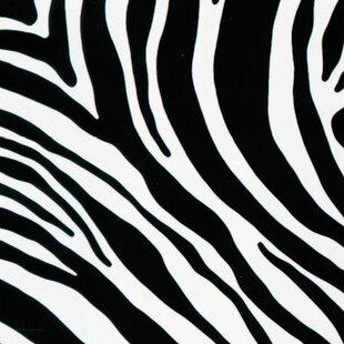 Roll Zebra Sticky Back Plastic Film by FABLON