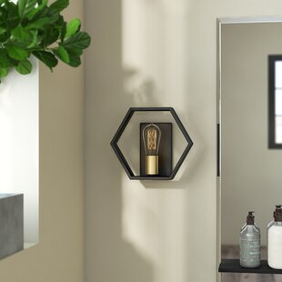 Themis 1-Light Arm Sconce by W..