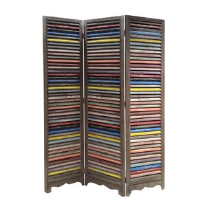 Screen Gems Shutter 3 Panel Room Divider