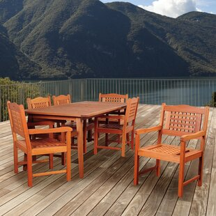 Beachcrest Home Elsmere 7 Piece Dining Set