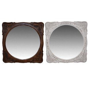 Alcott Hill Groth Accent Mirror (Set of 2)