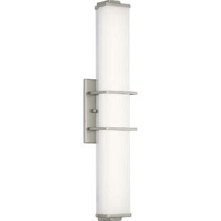 Deering Linear 1-Light LED Bath Sconce by Orren Ellis
