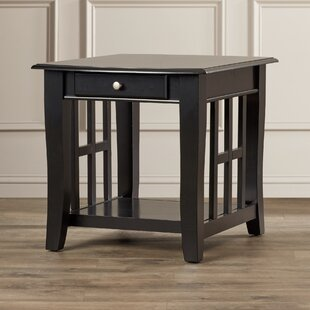 Jennings End Table With Storage by Alcott Hill