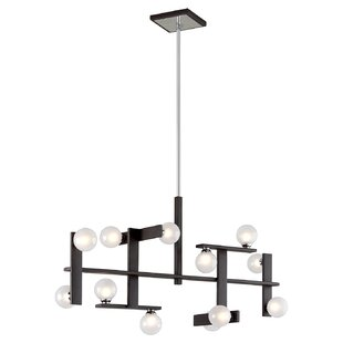 Troy Lighting Network 12-Light Chandelier