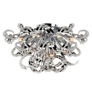 Orren Ellis Lagrone 19-Light Flush Mount