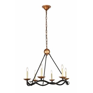 Gracie Oaks Sophy 6-Light Chandelier