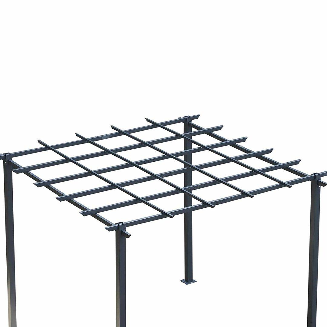 Arkose 3m x 3m Metal Pergola