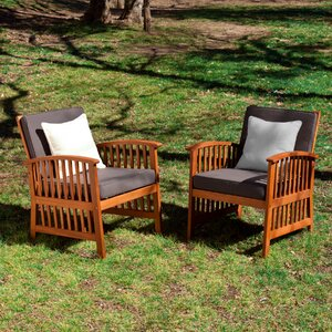 Bastion Outdoor Armchair (Set of 2)