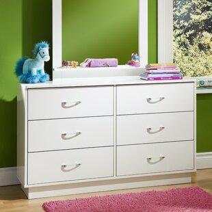 Affordable Logik 6 Drawer Double Dresser BySouth Shore