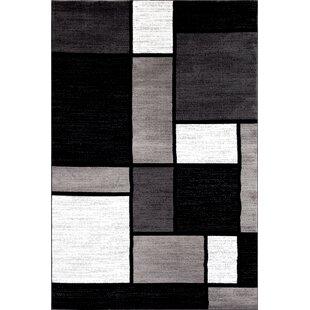 Nice Lorenzo Gray/Black Area Rug