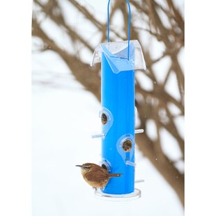 Perky Pet Metal Tube Wild Bird Feeder