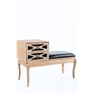 Logan Leather Storage Bench