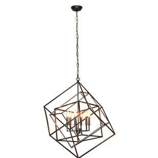 Bancroft 6-Light Geometric Cha..