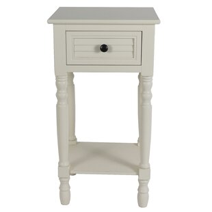 Perea Simplify End Table with Storage