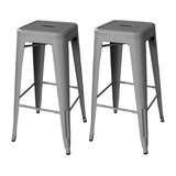 Cherina 30 Bar Stool (Set of 2) by Williston Forge
