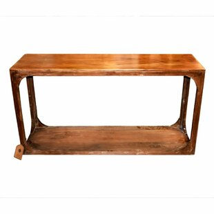 Worthley Well-Made Rectangular Wooden Console Table by Millwood Pines