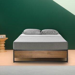 Zipcode Design Ozella Metal and Wood Platform Bed