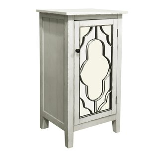Antwan 1 Door Accent Cabinet by Ophelia & Co.