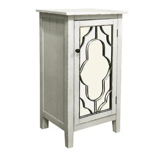 Antwan 1 Door Accent Cabinet by Ophelia & Co.