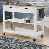 Jones Street Kitchen Cart by Darby Home Co