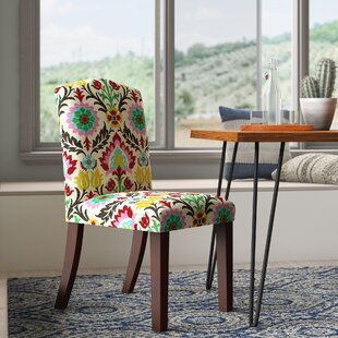 Erick Darling Arched Dining Side Chair Mistana