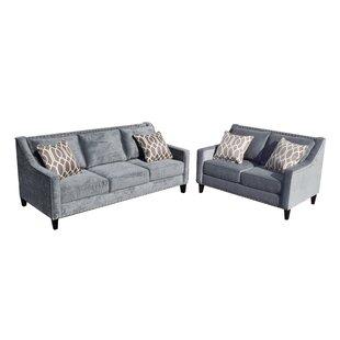 Mervela 2 Piece Living Room Set